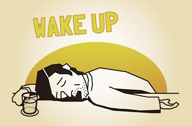 カウンターの上で寝そべって心地よく居眠りするなかれ。